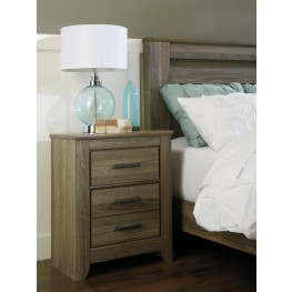 Zelen Two Drawer Nightstand