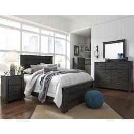 Brinxton Black Poster Bedroom Set