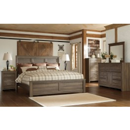 Juararo Panel Bedroom Set