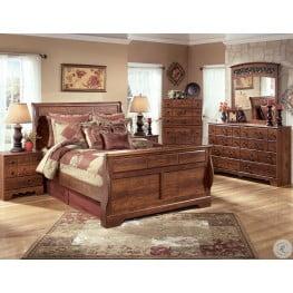 Timberline Warm Brown Sleigh Bedroom Set