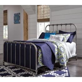 Nashburg Silver Full Metal Bed
