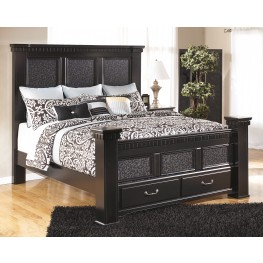 Cavallino Queen Storage Mansion Bed