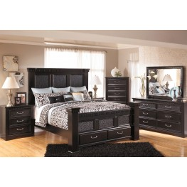 Cavallino Mansion Storage Bedroom Set