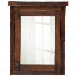 Barnwood Right Hinged Medium Medicine Cabinet