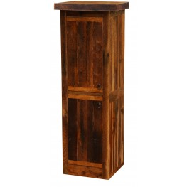"Barnwood Left Hinged 18"" Linen Cabinet"
