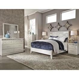 Dreamur Champagne Panel Bedroom Set
