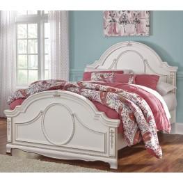Korabella White Full Panel Bed