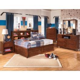 Delburne Youth Bookcase Storage Bedroom Set