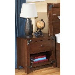 Delburne One Drawer Night Stand