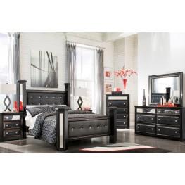 Alamadyre Upholstered Poster Bedroom Set