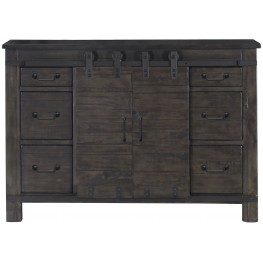 Abington Weathered Charcoal Media Chest