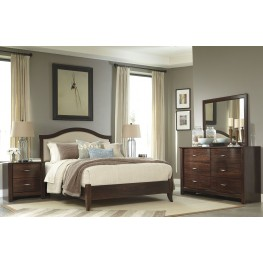 Corraya Panel Bedroom Set
