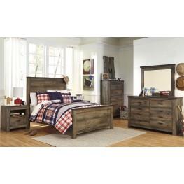 Trinell Brown Panel Bedroom Set
