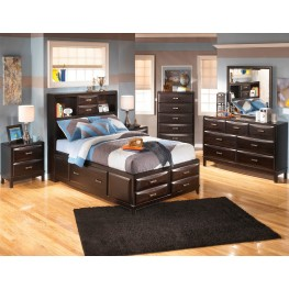 Kira Youth Storage Bedroom Set
