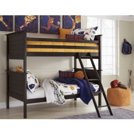 Jaysom Black Bunk Bedroom Set