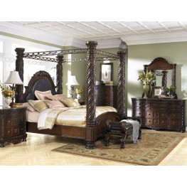 North Shore Poster Canopy Bedroom Set