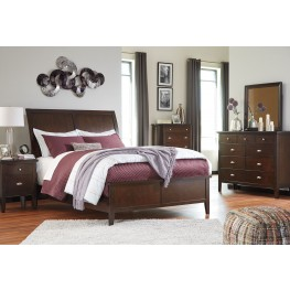 Evanburg Sleigh Bedroom Set
