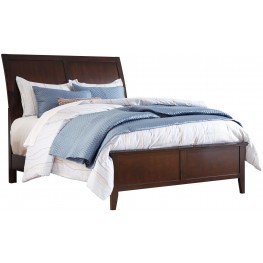 Evanburg Brown Cal.King Sleigh Bed