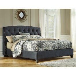 Cal. King Upholstered Platform Bed
