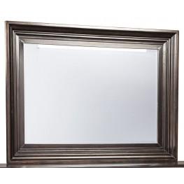 Willenburg Dark Brown Bedroom Mirror