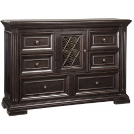 Willenburg Dark Brown Dresser