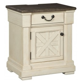 Bolanburg Two Tone One Drawer Nightstand