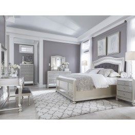 Coralayne Silver Bedroom Set from Ashley (B650-157-54-96) | Coleman ...