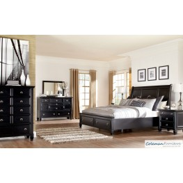 Greensburg Storage Sleigh Bedroom Set