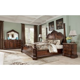 Ledelle Poster Bedroom Set