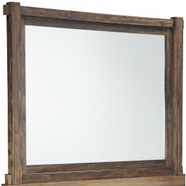 Lakeleigh Brown Bedroom Mirror