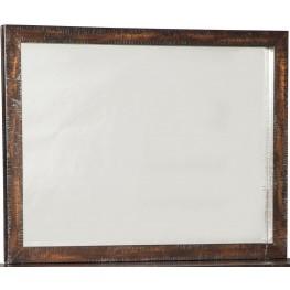 Parlone Dark Brown Bedroom Mirror