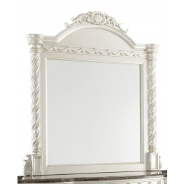 Cassimore North Shore Pearl Silver Bedroom Mirror