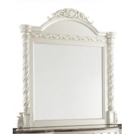 Cassimore North Shore Pearl Silver Bedroom Mirror