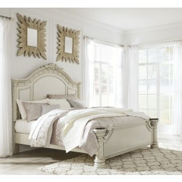 Cassimore Pearl Silver  Piece Bed Set King Ashley Furniture