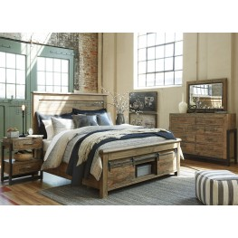Sommerford Brown Storage Panel Bedroom Set