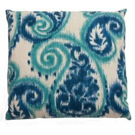"Bangali Carribean 22"" Square Pillow"