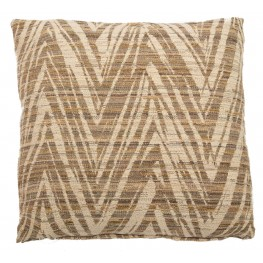 "Cosmo Natural 22"" Square Pillow"