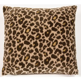 "Wild Life Cheetah 22"" Square Pillow"