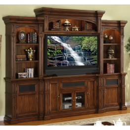 Berkshire Old World Umber Entertainment Wall