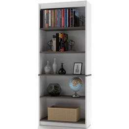 Innova White And Antigua Bookcase