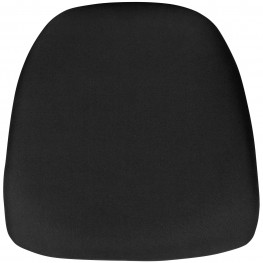 Hard Black Fabric Cushion for Crystal/Resin Chiavari Chairs