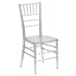 Flash Elegance Crystal Ice Stacking Chiavari Chair