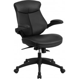 31847 Mid-Back Black Executive Swivel Office Chair