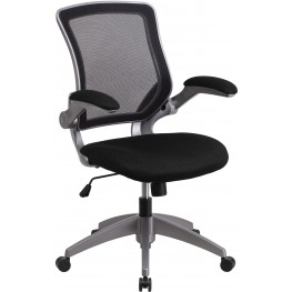 Mid-Back Black Swivel Task Chair