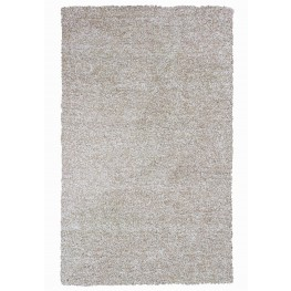"Bliss Ivory Heather Shag 45"" X 27"" Rug"