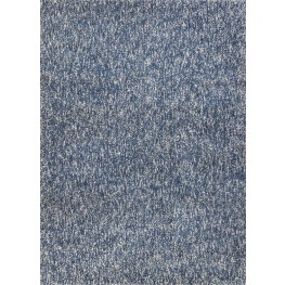 "Bliss Indigo and Ivory Heather 156"" X 108"" Rug"