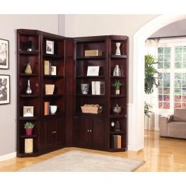Boston L Shape Bookcase Wall