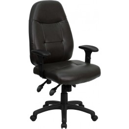 High Back Brown Executive Office Chair