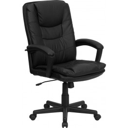 1000195 High Back Black Executive Swivel Office Chair