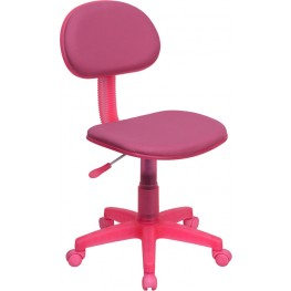 Pink Ergonomic Task Chair